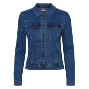 Vero Moda Geacă de damă VMHOT SOYA LS JACKET MIX NOOS Denim Medium Blue XL