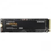 Твърд диск SSD Samsung 970 EVO PLUS, 250 GB, 3D V-NAND Flash, M.2 (2280), PCIe NVMe, MZ-V7S250BW