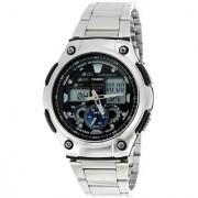 Casio Youth Analog-Digital Black Dial Men's Watch - AQ-190WD-1AVDF (AD160)