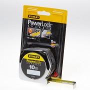 Stanley Rolbandmaat powerlock boveninkijkvenster 10 meter x 25mm 0-33-443