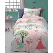 Cinderella Kids Dekbedovertrek Dreamland - Roze - 140x200 cm