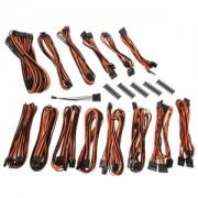 Kit cabluri modulare BitFenix Alchemy 2.0 CMR-Series Black/Orange