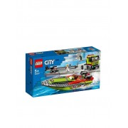 Lego City - Rennboot-Transporter 60254