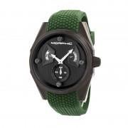 Morphic M34 Series Men's Watch w/ Day/Date - Black/Green MPH3408