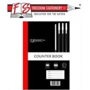 Freedom A4 Feint and Margin Counter Book 128