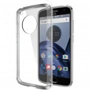 Funda Case Para Moto G5 Plus Protector Transparente De Acrílico Con Bordes De Plastico TPU - Transparente