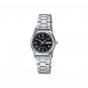 Reloj Analógico Mujer Casio LTP-V006D-1B - Plateado con Negro