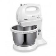 Mixer cu bol Heinner HMBR-300W 3.4l alb / inox