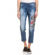Guess Stretch-Jeans Vanille, Relaxed Low Fit blau