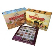 Science Rocks Bundle With Rock and Crystals Excavation Dig Kit, Fossil Excavation Kit, and Gemstone Kits For Kids