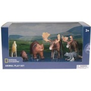 Set 6 figurine National Geographic Animalute Salbatice