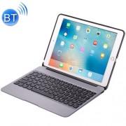 F07 for iPad Pro 12.9 inch Portable Foldable Aluminium Alloy Wireless Bluetooth Backlight Keyboard (Grey)