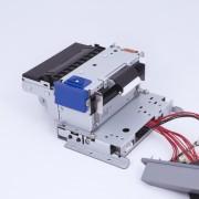 SK1-31F KL е фискален принтер за вграждане. Монтирането на презентер (опция) позволява дневният финансов отчет да бъде съхранен в корпуса на киоск-устройството.