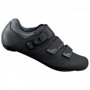 Shimano - Fahrradschuhe SH-RP3 - Chaussures de cyclisme taille 41 - Weit;42 - Regular;42 - Weit, noir/gris