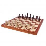 Set de șah lemn Staunton 6, cu organizator