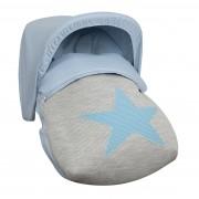 Saco Porta bebé Snow Azul (capota no incluida)