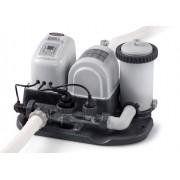 Piscine Intex Clorinatore Combo con Pompa Filtro Intex Sistema E.C.O.