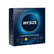 My.size Preservativo my.size 53 di my.size confezione da 3, 10 e 36 pezzi
