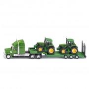 Siku Låglastare med John Deere-traktorer 1:87 541257