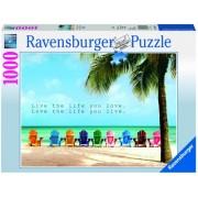 Puzzle plaja, 1000 piese Ravensburger