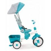 Tricicleta pentru copii Little Tikes Perfect Fit 4 in 1 Turcoaz