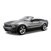 Maisto 1:18 Scale Metallic Grey 2010 Ford Mustang GT Convertible