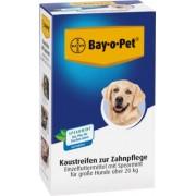 Bayer BAY O PET Zahnpfl.Kaustreif.Spearmint f.gr.Hunde 140 g