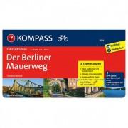 Kompass - Der Berliner Mauerweg - Fietsgidsen RF 6014
