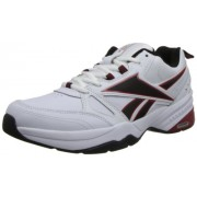 Reebok Men's Royal Mt Cross-Trainer Shoe, White/Black/Excellent Red, 8 M US