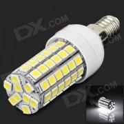 lexing LX-YMD-005 E14 5W 500lm 7500K 69-5050 SMD Lampara de luz blanca LED-blanco + amarillo