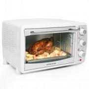 Mini cuptor electric si grill 20L, alb, 1500W Andrew James AJ000300