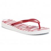 Джапанки CALVIN KLEIN JEANS - Daralyn B4R0902 White/Racing Red