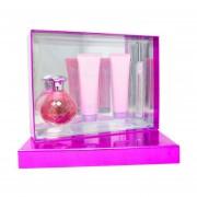 Set Dazzle 4Pzs 125 ml Edp Spray + Shower Gel 90 ml + Body Lotion 90 ml + 10 ml Edp Spray de Paris Hilton
