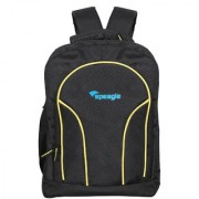 Speagle 15.6 inch Laptop Backpack (Black Yellow)