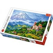 Puzzle Peisaj cu vulcanul, 1000 piese