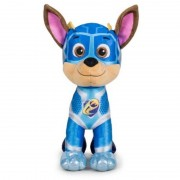 Paw Patrol Pluche Paw Patrol Chase Mighty Pups Super Paws knuffel 27 cm