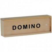 Domino mini in cutie de lemn 28 piese 3 ani+