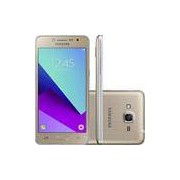 Smartphone Samsung Galaxy J2 Prime TV Dual Chip Android 6.0 Tela 5 Quad-Core 1.4 GHz 16GB 4G Câmera 5MP - Dourado
