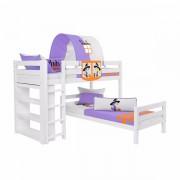 Dečiji krevet na sprat Emil Beli Little Witch