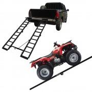 Rampa Para Quadriciclo Pick Up Universal 400 kg Aço Carbono Preto