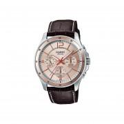 Reloj Analógico Hombre Casio MTP-1374L-9A Cronógrafo - Marrón con Rosa Dorado