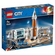 Lego City Space Port (60228). Razzo spaziale e Centro di controllo