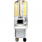 Bec LED 64SMD Dimabil G9 3W 6500k 230V Alb Rece
