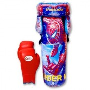 Eastern Club Boxing Kit Spiderman (1 Punching bag 1 gloves and 1 Head Guard)