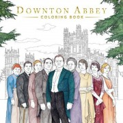 Downton Abbey Coloring Book, Paperback