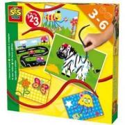 Детски занимателен комплект - Уча да се броя, SES, 080622