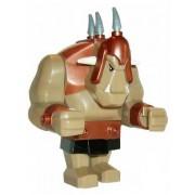 Troll (Tan Bronze Armor) - LEGO Castle Minifigure