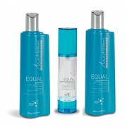 Mediterrani Kit Equal Home Care Shampoo, Leave-in E Sérum