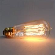 st58 40w e27 vintage retro gloeidraad Edison lamp (AC220-240V)