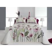 Cuvertura de pat OKARA roz, dimensiune 235 cm x 270 cm